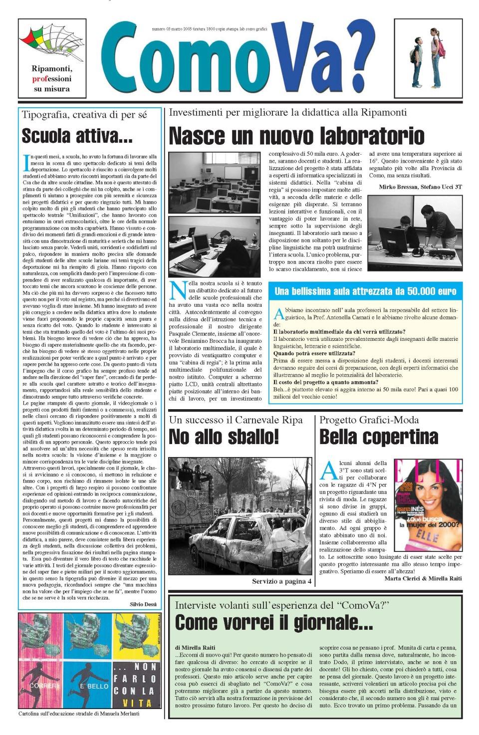 giornale interscolastico